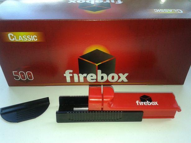 Набор: машинка для набивки + гильзы для сигарет табака 500шт Firebox