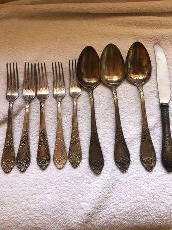 Рожки вилки и ножи