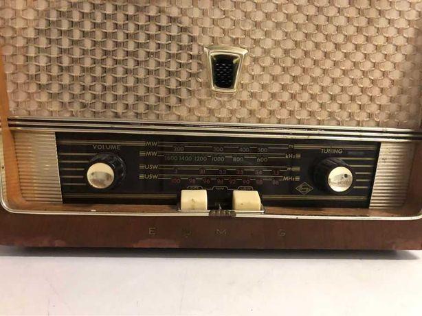 Rádio Eumigette com Gira Discos | Funciona mas não sintoniza