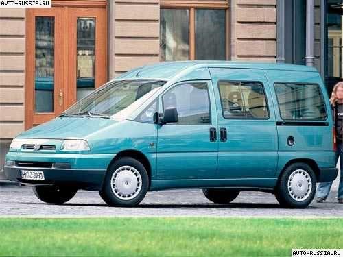 Разборка Fiat Scudo