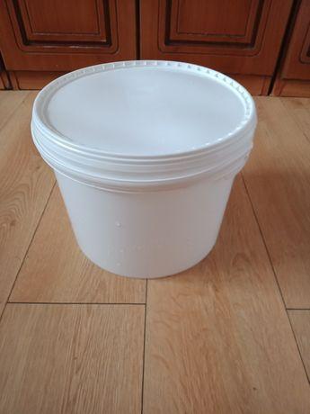 Wiadra plastikowe PP o pojemności 11,4L