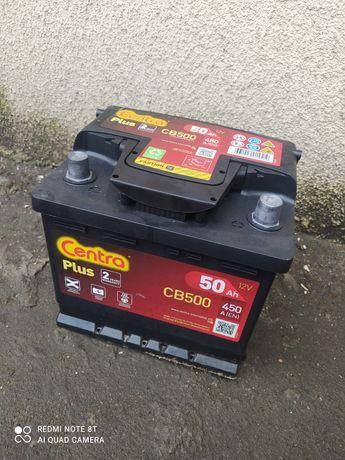 Akumulator 50Ah 450A Centra Plus CB500! Na gwarancji!