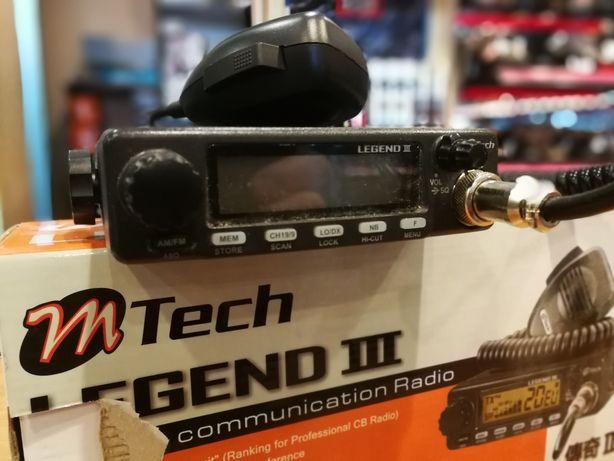 Radio CB Mtech legend III + SIRIO ML-145