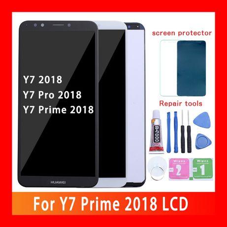 ˃˃Дисплей Huawei Y7 2018/Pro/Prime/Honor 7C/Nova 2/Купити Модуль ОПТ