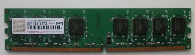 DDR 2 - Transcend 1 Gb 290 руб.