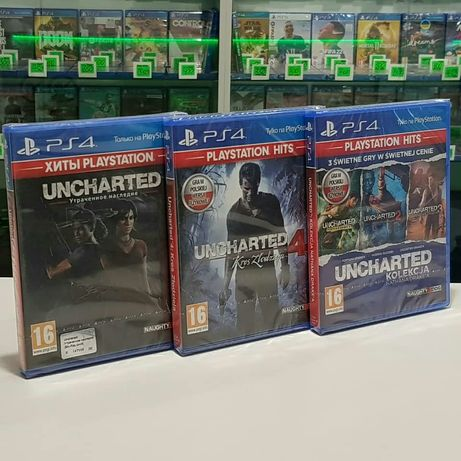 Uncharted 4, Утраченное Наследие , Collection Ps4 Магазин Обмен Пс4 Pl