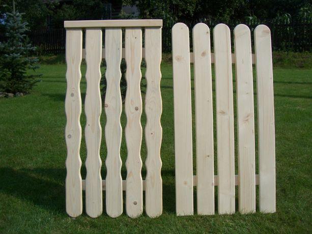 Sztachety drewniane 100 cm. wysyłka / inne długości od 50 - 200 cm.