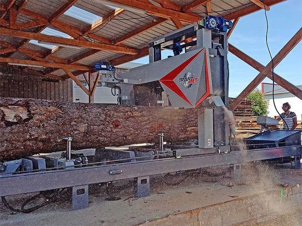 Trak taśmowy do 130 cm wydajny 30 m3 TTS-1200 szeroka taśma 60 mm