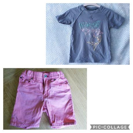 H&M Reserved 104 110 zestaw dla chłopca na lato spodenki t-shirt szort