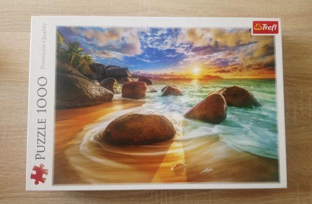 Puzzle Trefl 1000 el., plaża