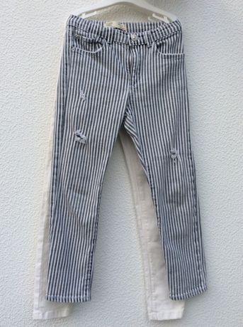 2 pares de calças Zara e Kiabi