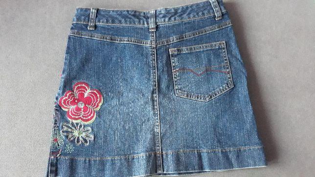 Spódnica spódniczka S jeansowa EDC by Esprit rozmiar 158