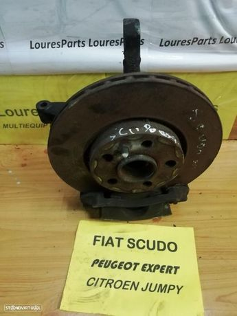 Manga de eixo, disco e bomba travão Fiat Scudo, Peugeot expert, Citroen Jumpy