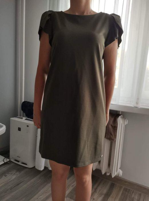 Prosta sukienka khaki Gorzów Wielkopolski - image 1
