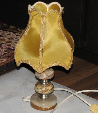 Lampka nocna onyx kamień naturalny
