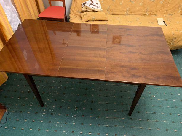 Stół rozkładany antyk PRL