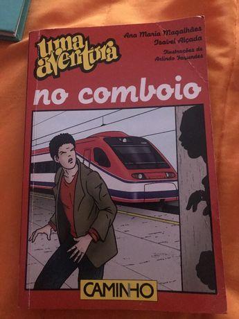 """Livro """"Uma aventura no comboio"""""""