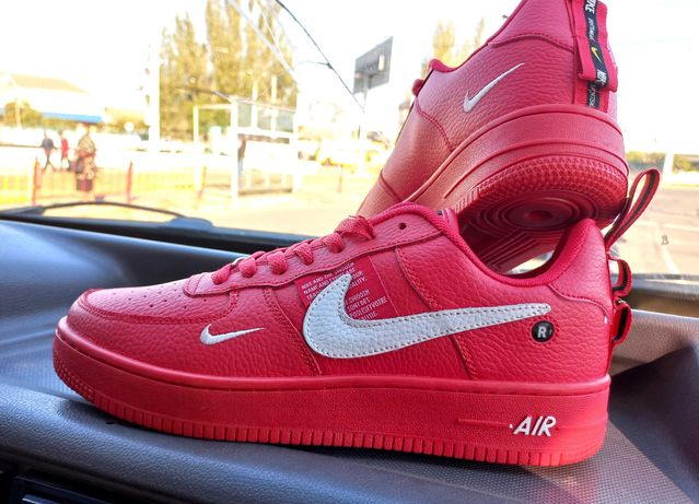 Розпродажа Кроссовки мужские Nike Air Force 1 '07  Найк форс кожа кеды