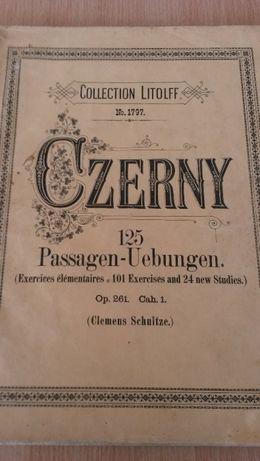 Nuty na fortepian - Carl Czerny Colection Litoft