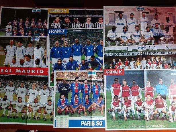 Posteres diversas equipas futebol