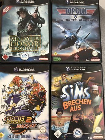 4 Gry Top Gun/Star Wars/The Sims Gamecube