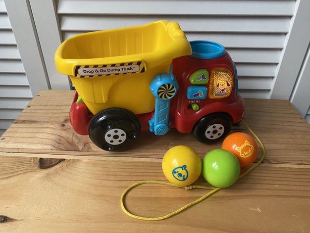 Vtech, wywrotka Małego Budowniczego, zabawka edukacyjna ENGLISH