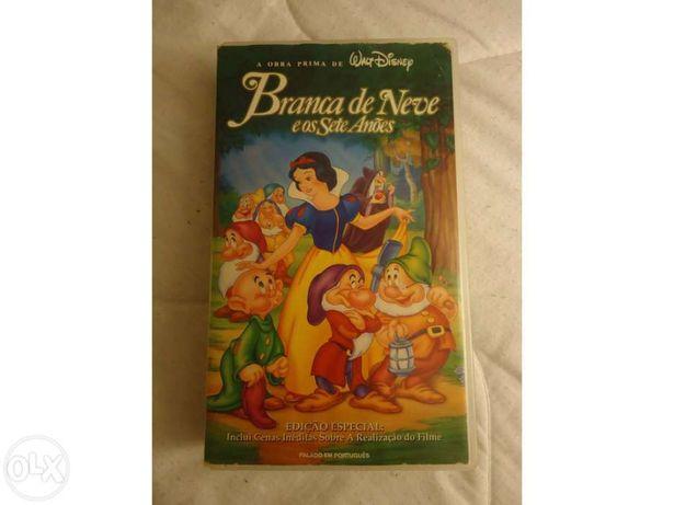 VHS Warner Bros e Disney