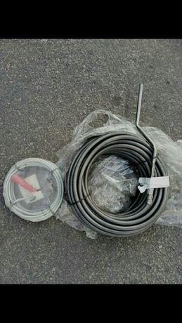 Трос для чистки труб , канализации.