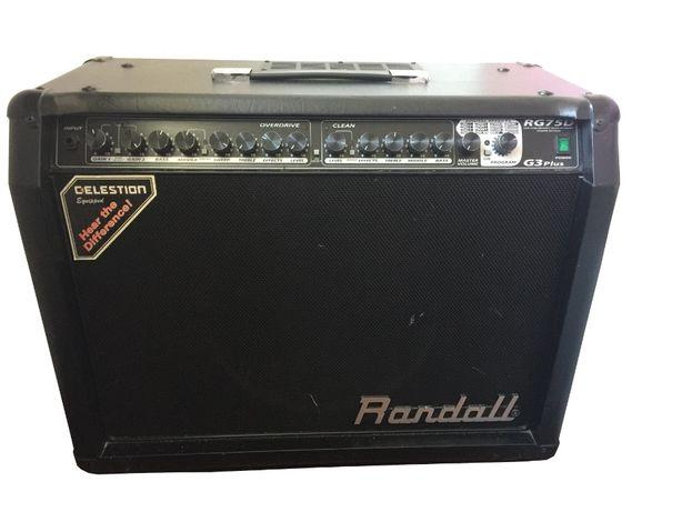 Wzmacniacz Randall 75 W / 100 W , G3 PLus RG75D