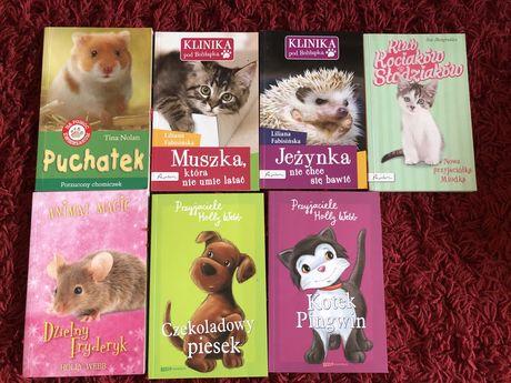 Książka dla dzieci zwierzęta Holly Webb Klinika pod Boliłapką