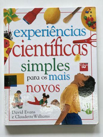 Experiências científicas simples para os mais novos