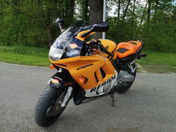 Honda CBR 600 F3 REPSOL z Niemiec sportowy wydech REMUS