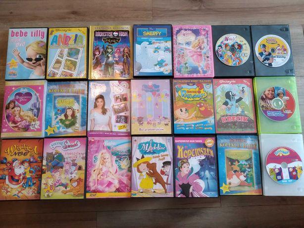 Bajki DVD dla dziewczynki