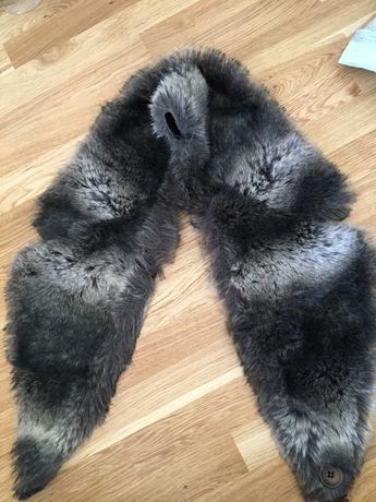 Kożuch z lisa do kurtki