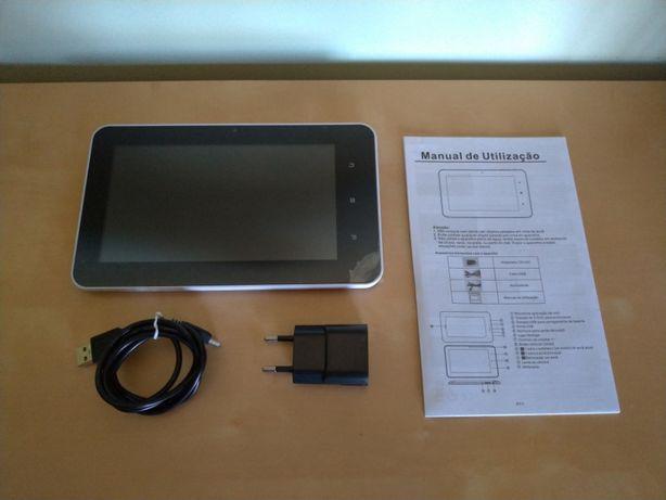 """Tablet ARM Cortex-A7 Quad Core 1.2Ghz - 7"""" 4Gb (ver descrição)"""