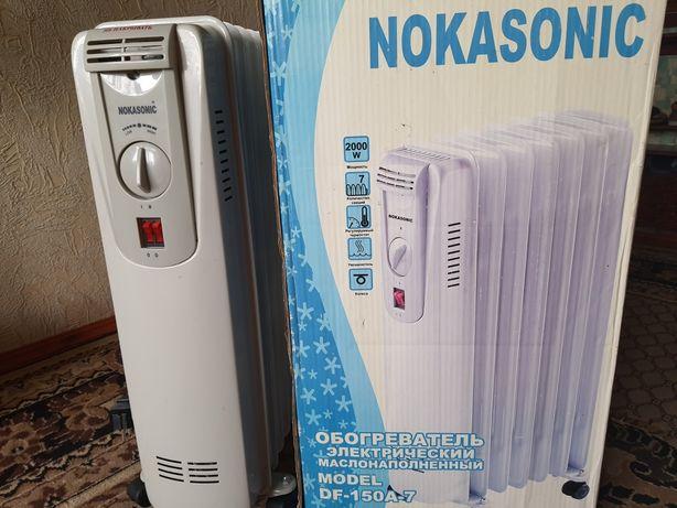 Электрокамин,обогреватель электрический,радиатор масляный.
