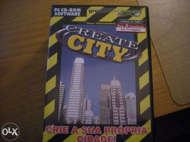 Vendo jogo original para PC Create City