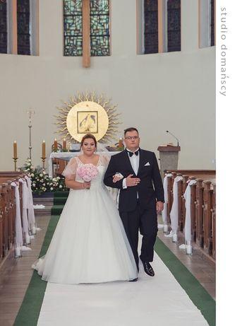 Zjawiskowa Suknia ślubna Justin Alexander plus size