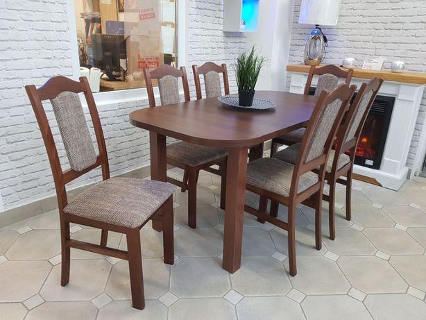 Nowy Zestaw Stół + 6 Krzeseł Dostępne od ręki RATY Grudziądz Kwidzyn