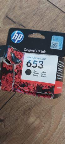 Tusz HP 653 czarny nowy