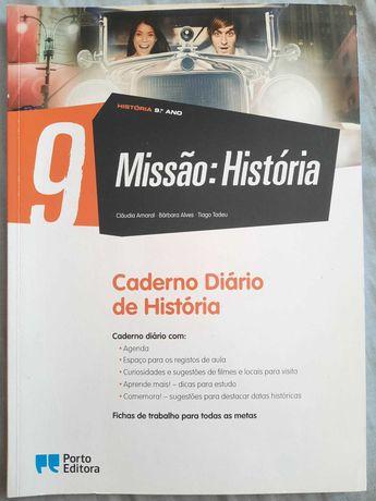 """""""Missão: História"""" - Livro Atividades História - 9º ano"""