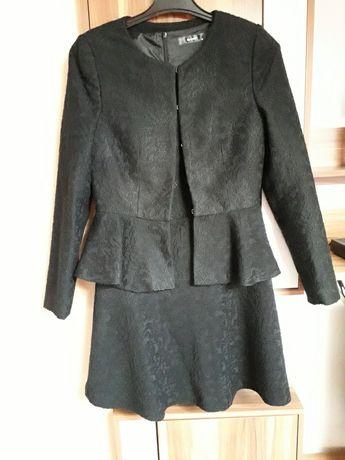 Hallhuber 36 komplet sukienka z marynarką