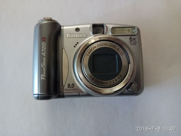 Aparat fotograficzny CANON PowerShot A 720 IS