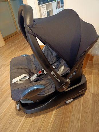 Fotelik łupina maxi cosi dla niemowlaka 0-13kg + baza