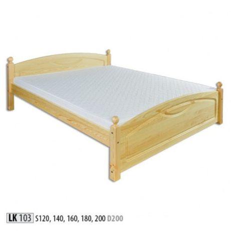 Nowe Łóżko sosnowe 120 DREWMAX
