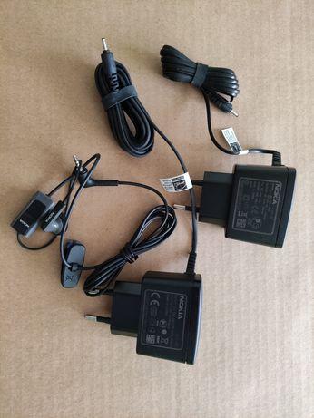 Oryginalna ładowarka Nokia AC-3E  + słuchawka Nokia