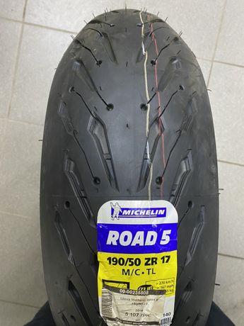 Резина на мотоцикл michelin road5 190/55r17