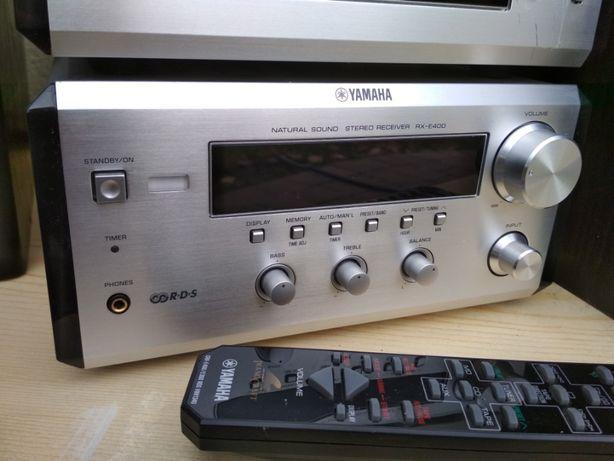Wieża YAMAHA PIANOCRAFT E400 + PILOT amplituner stereo