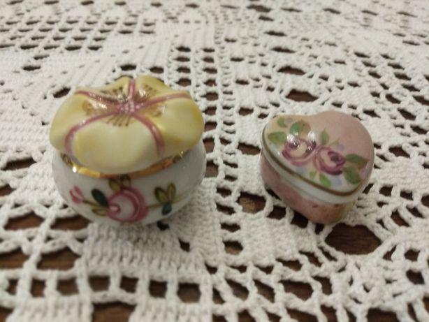 Caixas caixinhas de porcelana de coleção