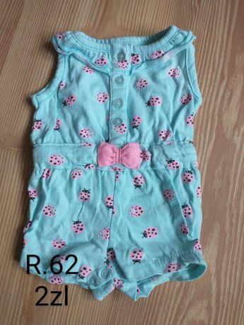 Ubrania dla dziewczynki 62